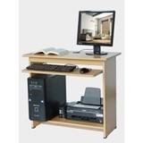 LUNAR Meja Komputer [LMC 811] - Beech - Meja Komputer